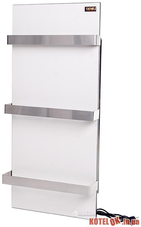 Керамическая панель-полотенцесушитель DIMOL Standart 07 с терморегулятором Кремовая DML201572