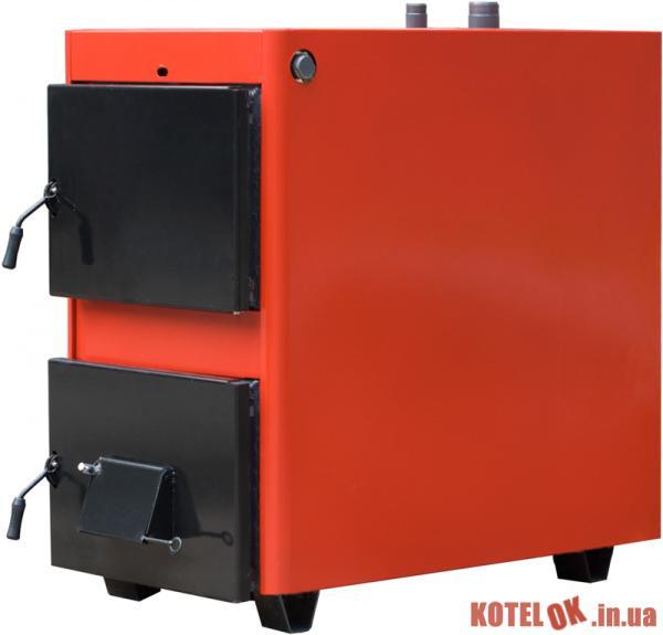 Твердотопливный котел ПРОСКУРІВ АОТВ-25К+ дымоотвод (320х370х220)