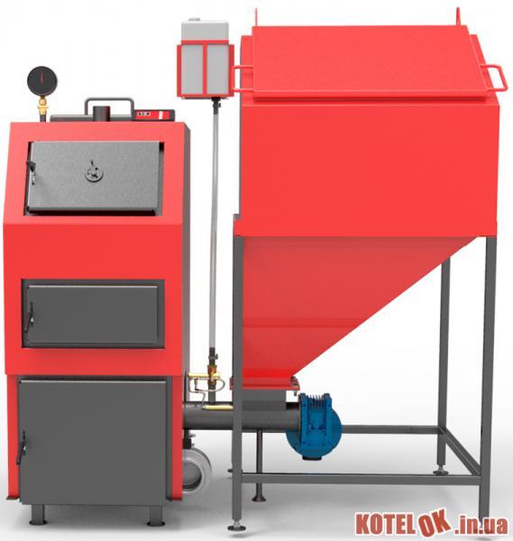 Твердотопливный котел RETRA 4М 25 кВт