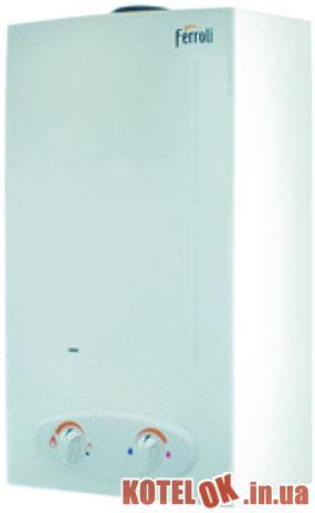 Газовый проточный водонагреватель FERROLI Zefiro C11