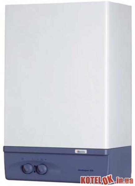 Газовый проточный водонагреватель BERETTA IDRABAGNO 17 ESI + коллектор дымоудаления и воздухозабора 817 мм