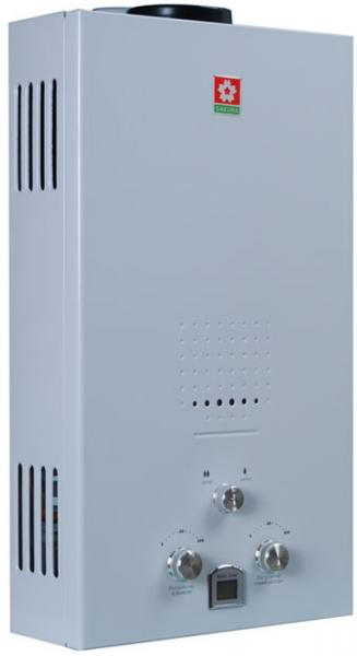 Газовый проточный водонагреватель SAKURA Samurai White
