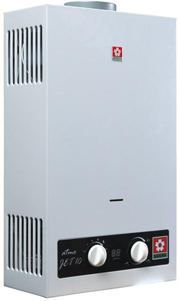 Газовый проточный водонагреватель SAKURA ATMO Jet 10