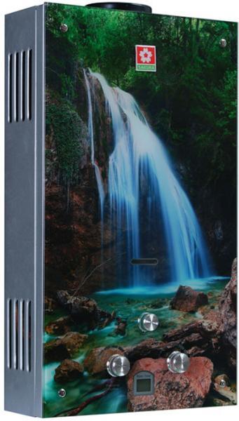 Газовый проточный водонагреватель SAKURA Samurai Waterfall