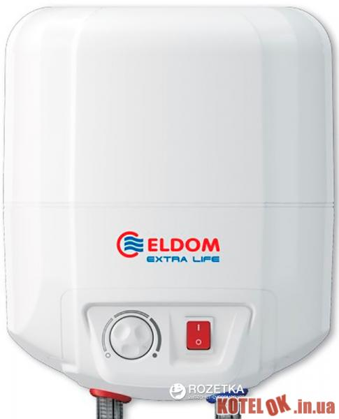 Бойлер ELDOM Extra life 7 над мойкой 2.0 kw 72324 NMP