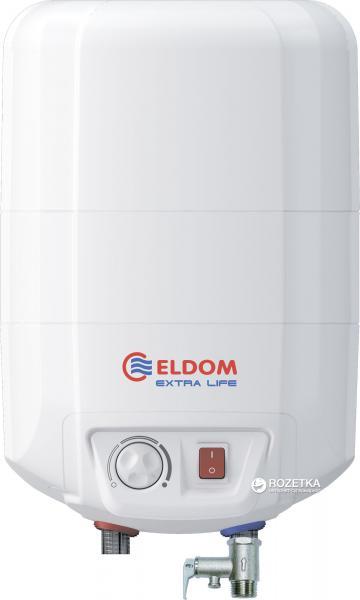 Бойлер ELDOM Extra life 10 над мойкой 2.0 kw 72325NMP