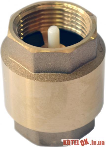 Клапан обратный GRANDINI 3/4″ ВВ пластиковый шток (CF4005PR-3/4)